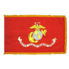 Indoor Display Marine Corps Flag