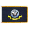 Indoor Display Navy Flag