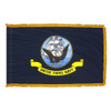 Indoor Display Navy Flag