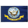 3' x 5' Poly-Max Outdoor Navy Flag 070407