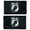 Double Faced Poly-Max POW-MIA Flags
