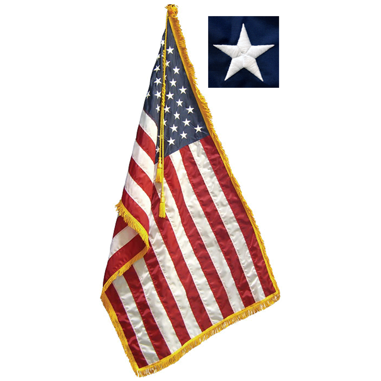 8' Freedom Indoor Flag Set with 3' x 5' Flag