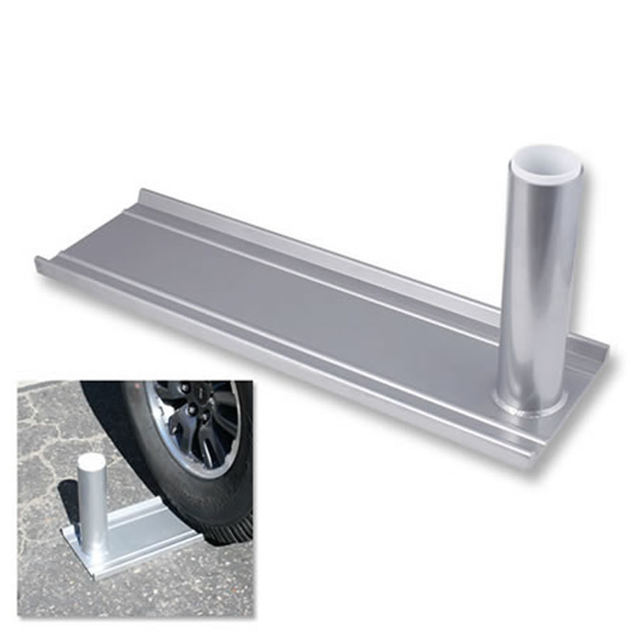 Telescoping Flagpole Wheel Mount