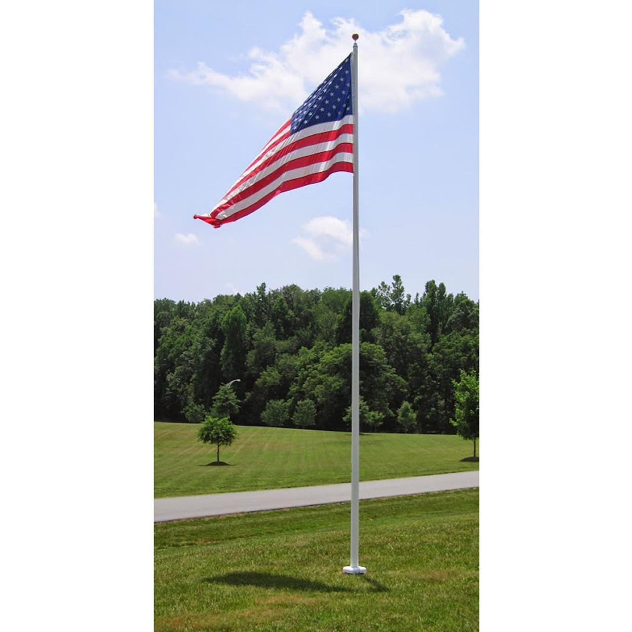 Internal Halyard Fiberglass Flagpoles