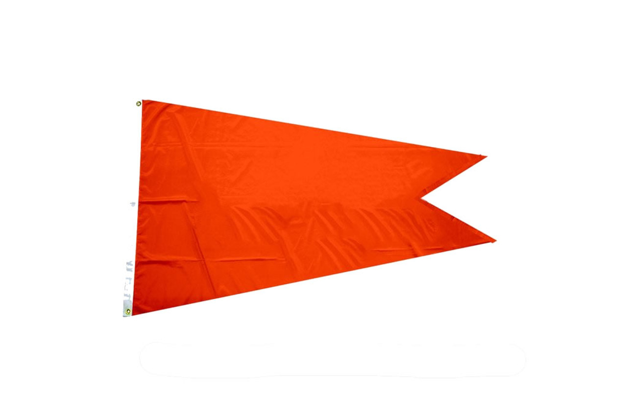 Solid Color Burgee Flags