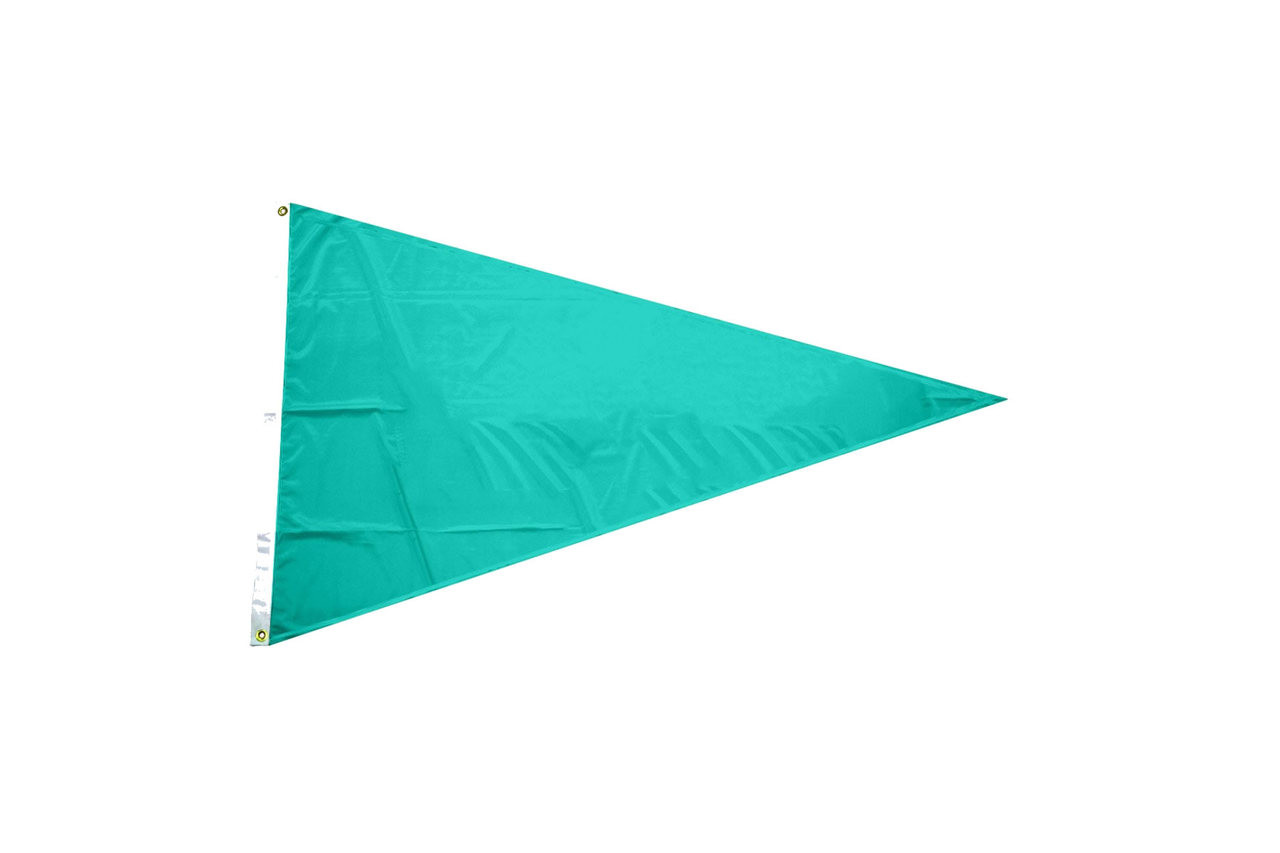 Solid Color Pennant Flags