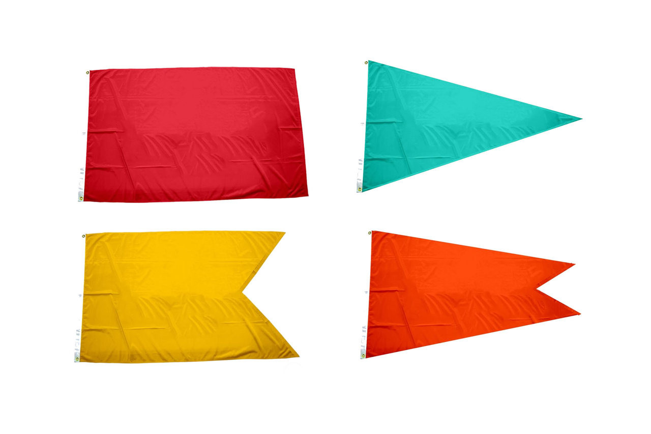 Solid Color Nylon Flags