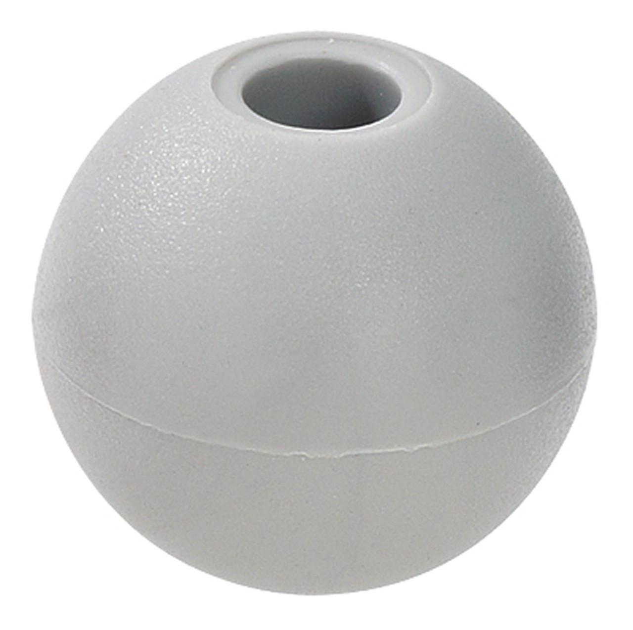 "Silver 1"" Nylon Beaded Retainer Ring Balls"