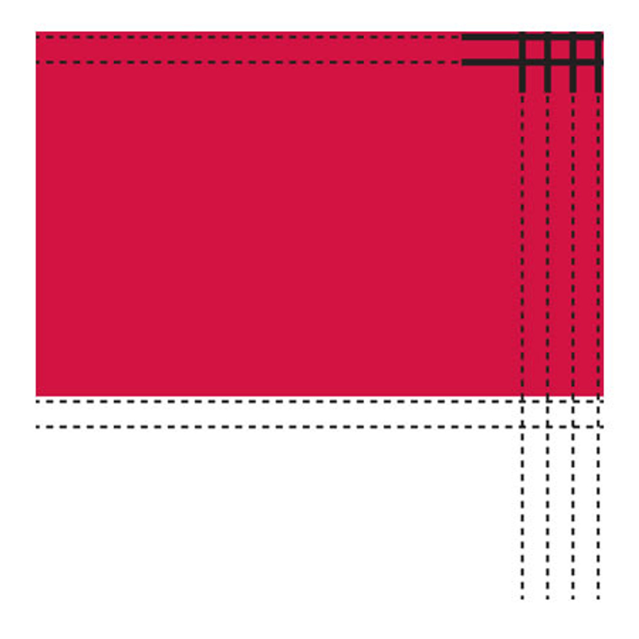 2' x 3' Nylon Texas Flag