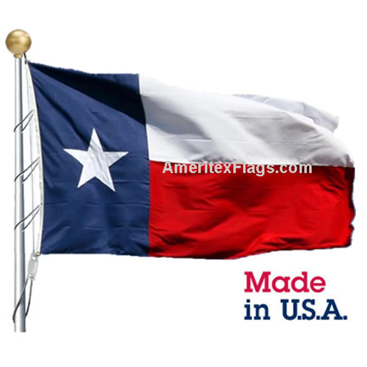 20' x 38' Nylon Texas Flag