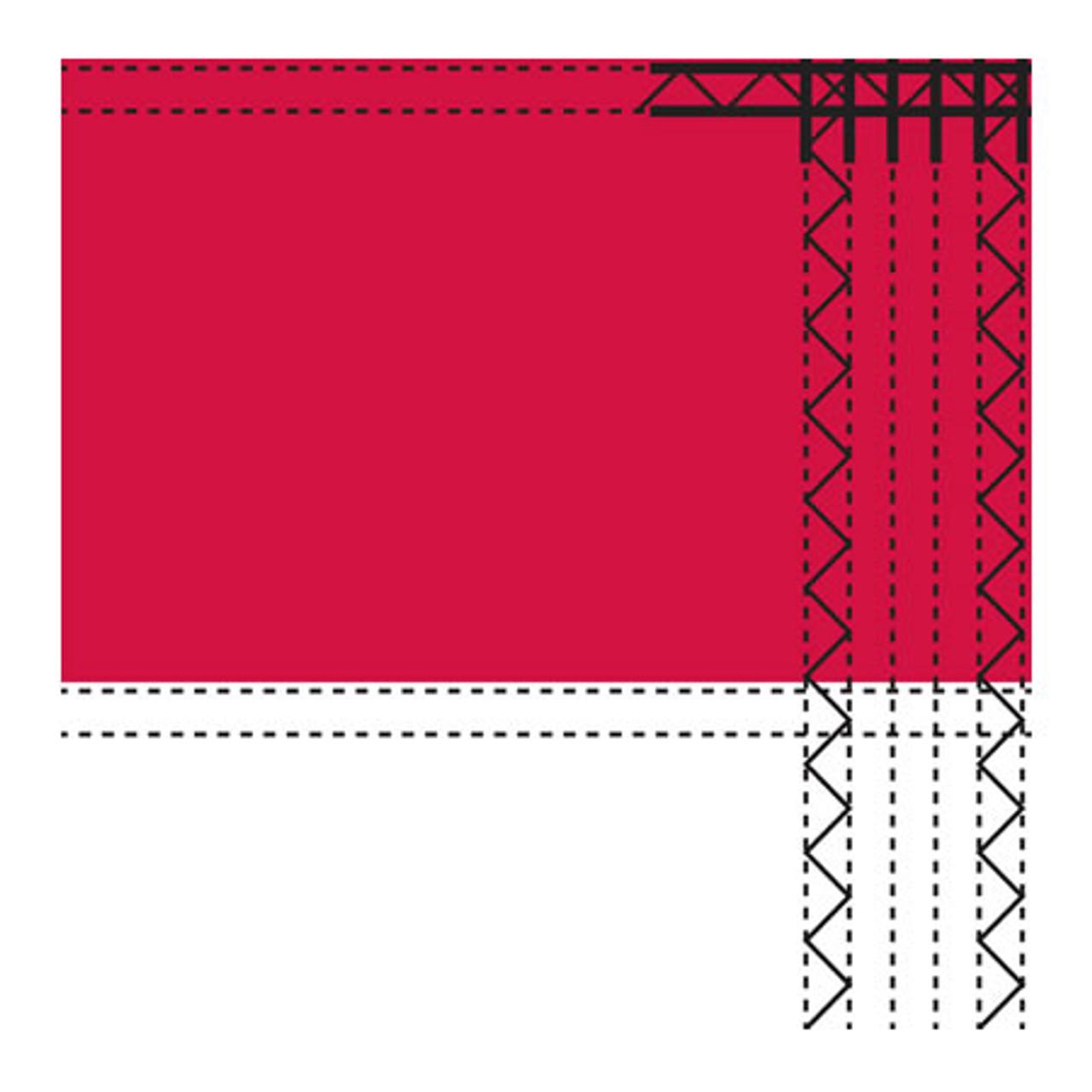 8' x 12' Polyester Texas Flag