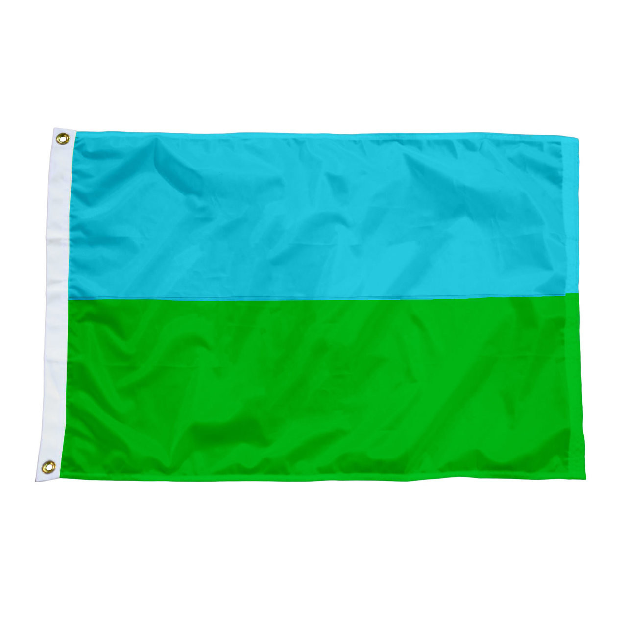 2 Panel Solid Color Nylon Attention Flags