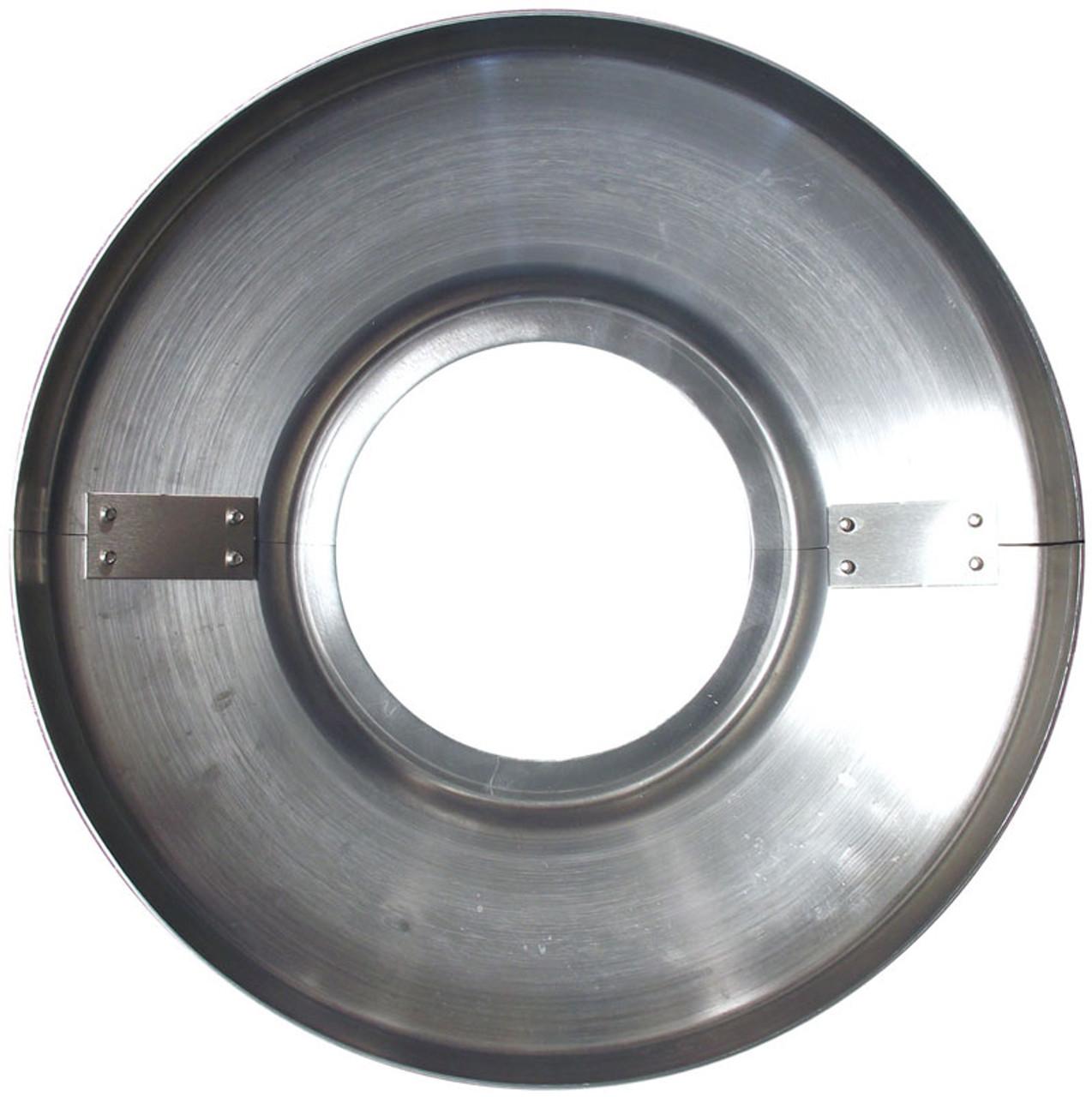 STYLE B Spun Aluminum Flag Pole Flash Collar