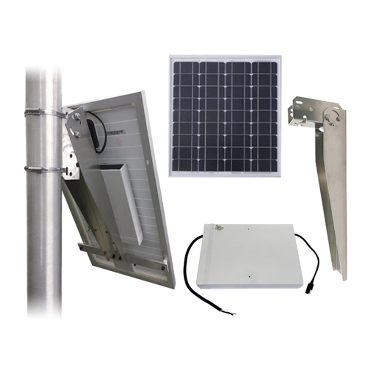 Residential Revolving Beacon Light Solar Package