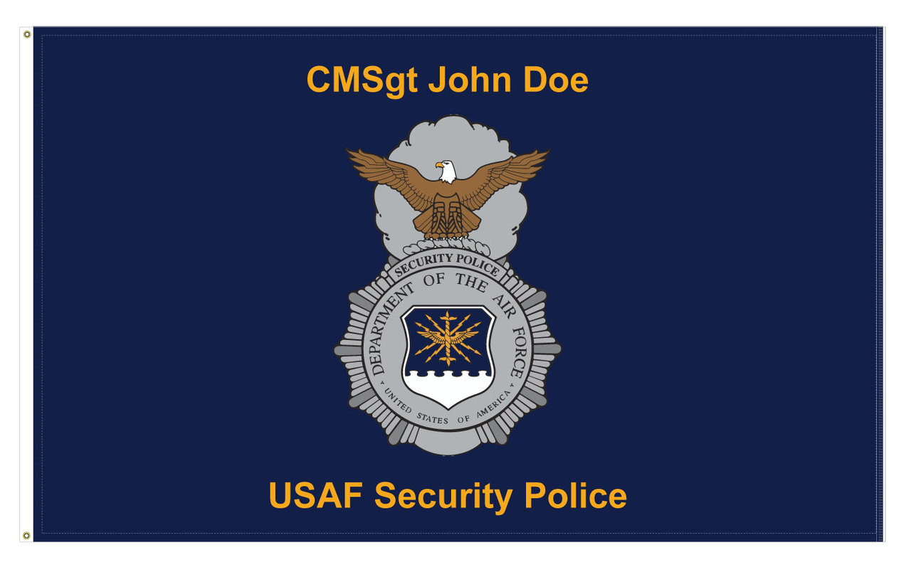 USAF Security Police Flag