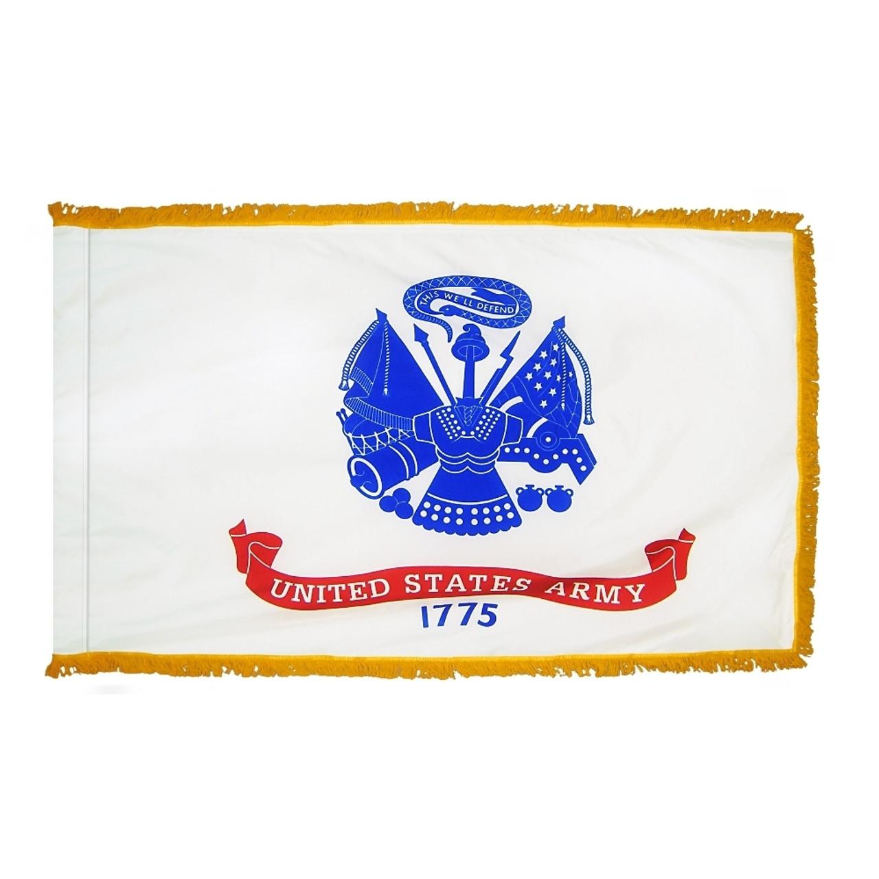 Indoor Display Army Flag
