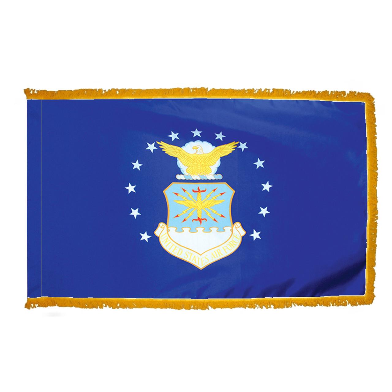 Indoor Display Air Force Flag