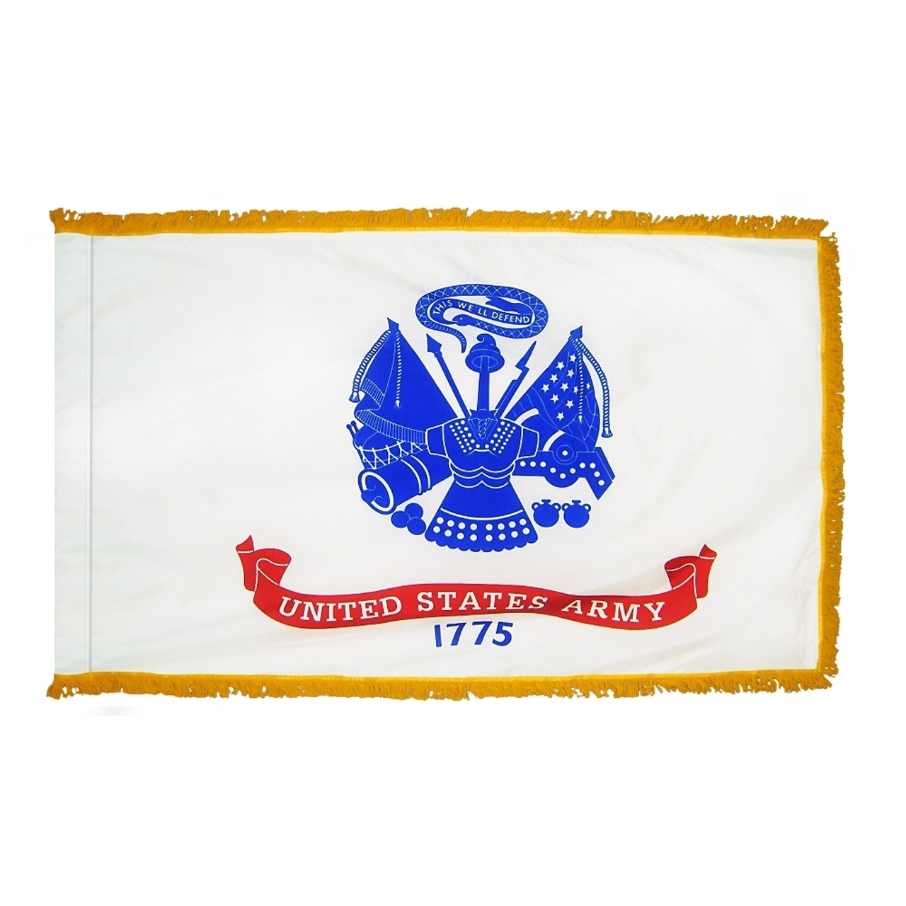Indoor Display Army Flag