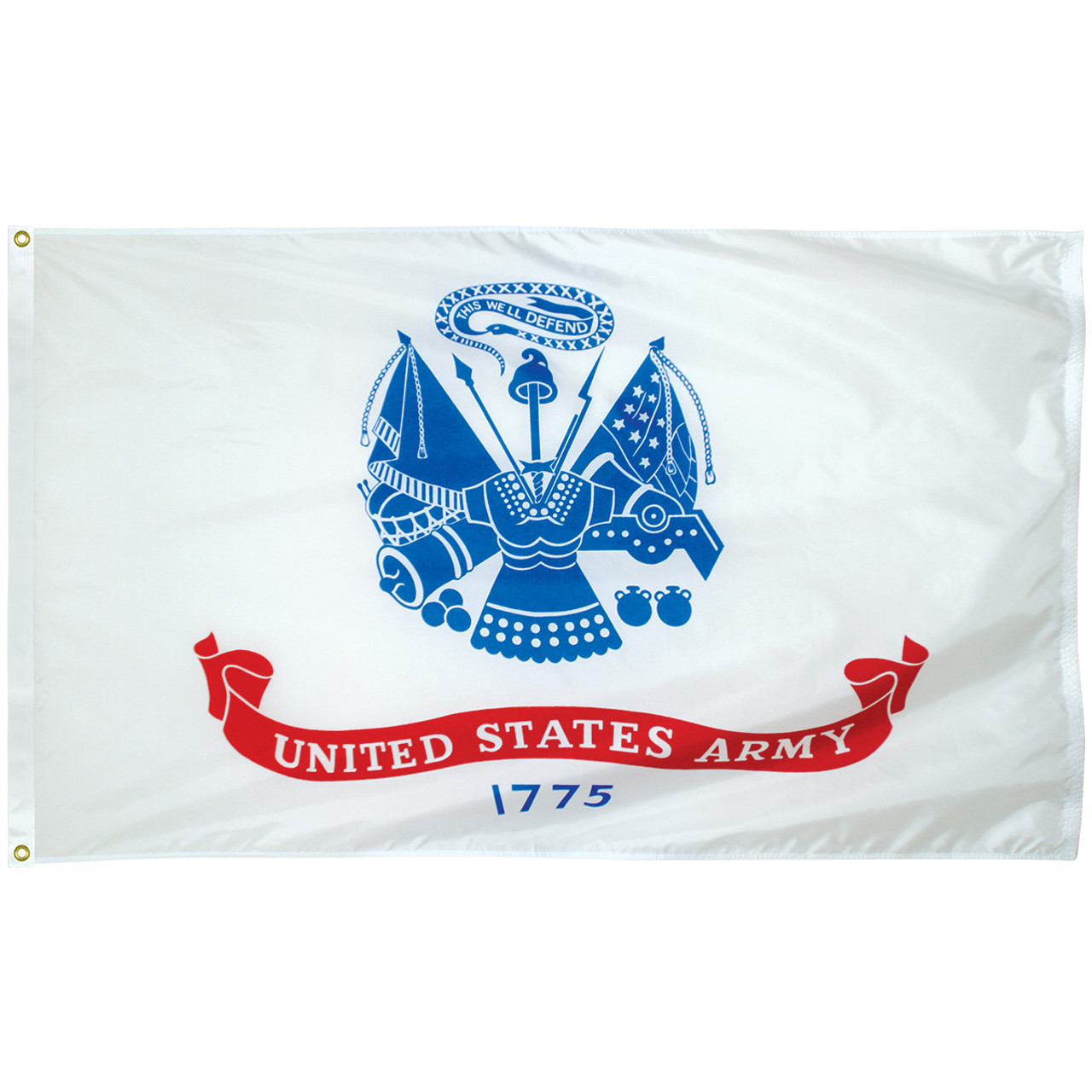 3' x 5' Poly-Max Outdoor Army Flag 070406