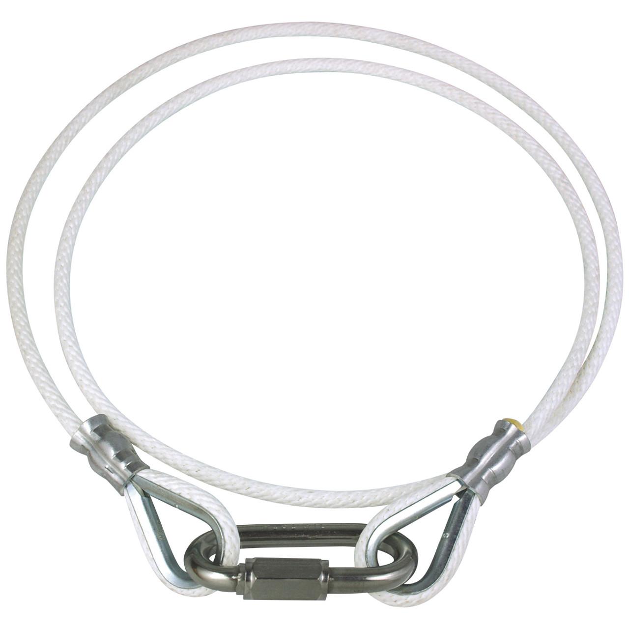 White Rope Retainer Ring