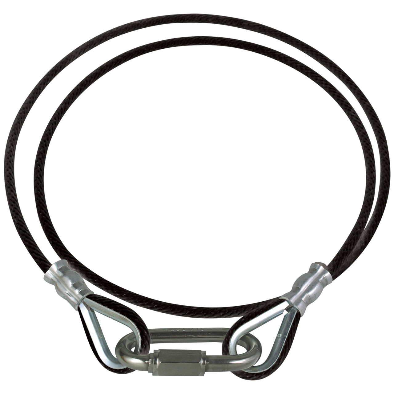 Black Rope Retainer Ring