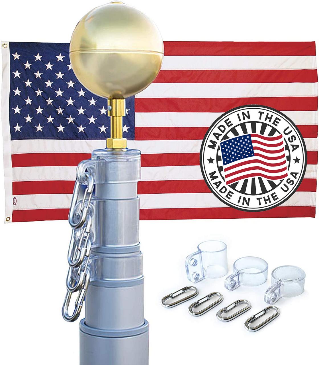 25' American Elite Telescoping Pole