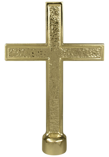 Metal Passion Cross Ornament