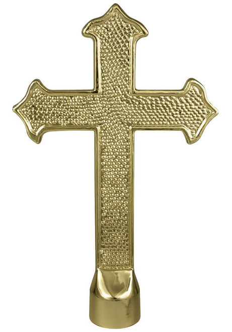 Metal Fancy Cross Ornament
