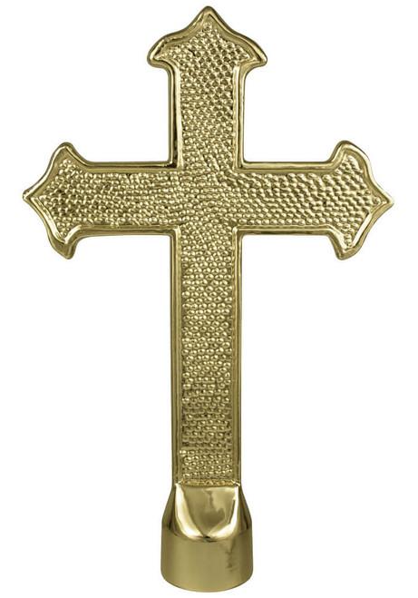 Metal Fancy Cross Ornament