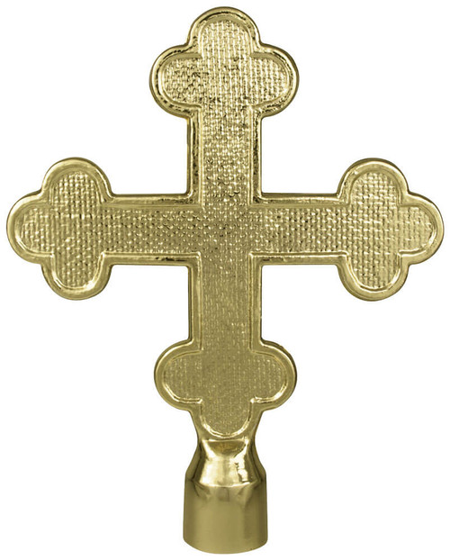 Metal Botonee Cross Ornament