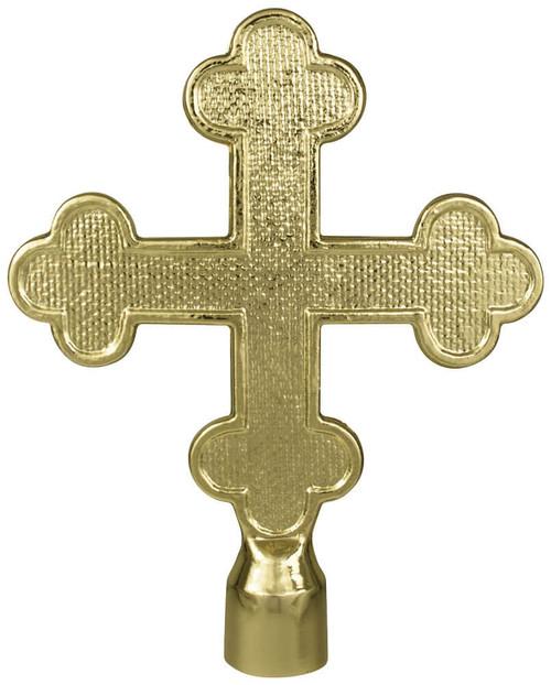 Metal Botonee Cross Ornament