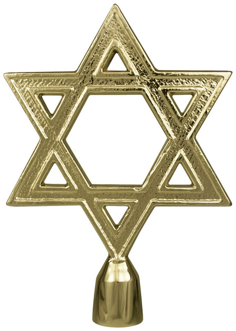 Metal Star of David Ornament