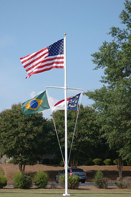 Nautical Fiberglass Flagpoles