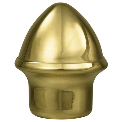 Solid Brass Slip Fit Acorn Ornament
