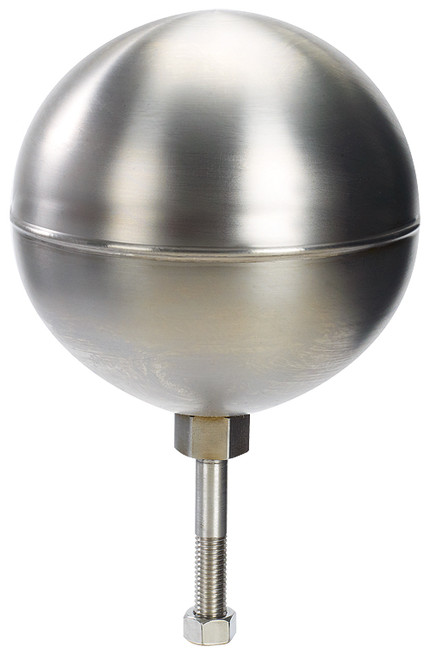 Stainless Steel Flag Pole Ball Ornament