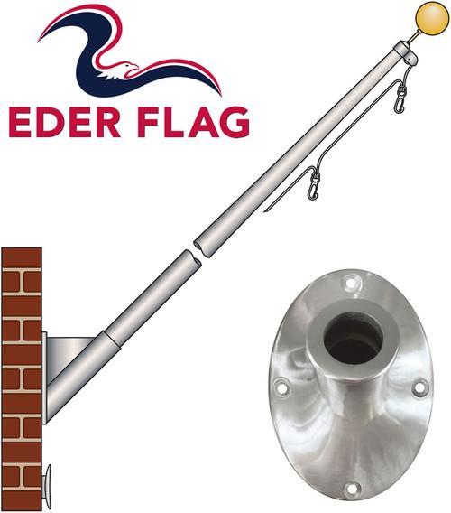Eder Flag ECO Aluminum Outrigger Flagpoles
