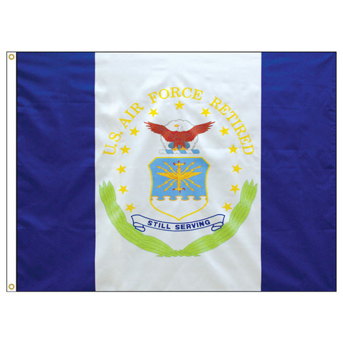 USAF Air Force Military Retiree Flags
