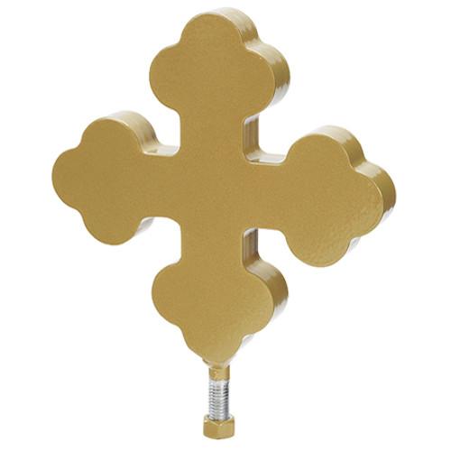 "8"" Botonee Flagpole Cross Ornament BCF-1006-GDT"