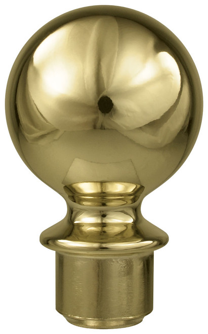 Metal Slip Fit Ball Ornament