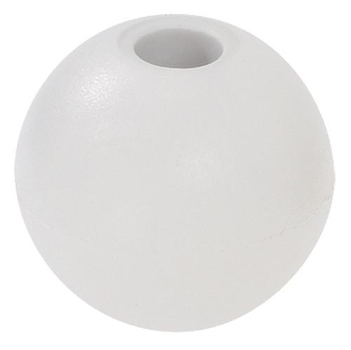 """White 1"""" Nylon Beaded Retainer Ring Balls"""