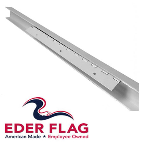 Eder Flag Wall Mounted Halyard Cover Channel