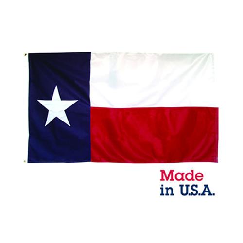 5' x 8' Nylon Texas Flag