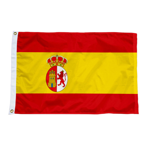 Texas Under Spain Flags