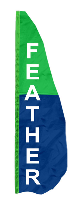 2-Panel Vertical Feather Banner Flags