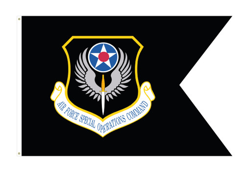 AFSOC Guidon Flag