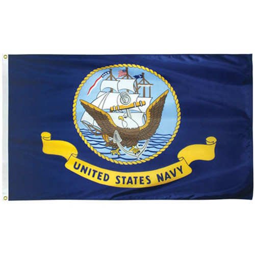Outdoor Nylon Navy Flags