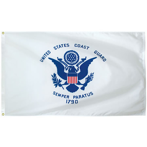Outdoor Nylon Coast Guard  flags USCG