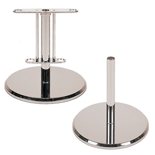Chrome Military Guidon Pole Floor Stand msf