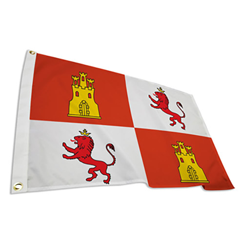 Lions and Castles Flag