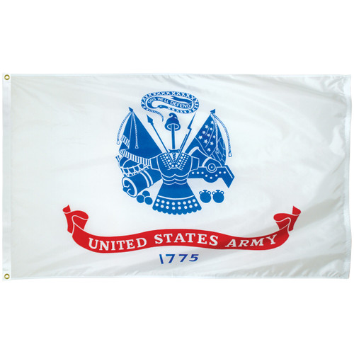 3' x 5' Poly-Max Outdoor Army Flag